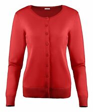 Sweater Cardigan for Women Crew Neck, V Neck Cotton Long Sleeve Button Cardigan