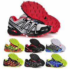 New Outdoor Men Salomon Speedcross 3 Athletic Running Shoes Hiking Sneakers AAA