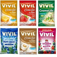 Vivil Sugar Free Sweets 60g Packet **PICK & MIX ANY 3** CHOOSE FROM 5 VARIETIES