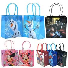 12x Baby Boy & Girl Goody Gift Loot Favor Bags Party Supplies Kids Gift Bag