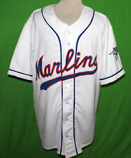 THE MIAMI MARLINS 1956 Home Retro BASEBALL JERSEY ANY NAME, ANY # XS - 5XL