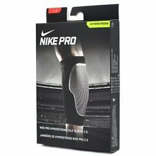 NIKE Pro Hyperstrong Sports Calf Sleeve 2.0 , Black x White