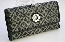 NWT Tommy Hilfiger Women's Trifold Clutch with Checkbook Case Wallet Purse
