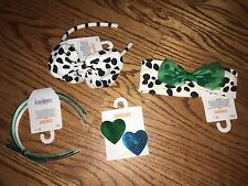 NWT/New Gymboree FANCY DALMATIAN Hair Accessories - Dalmation Headbands