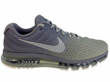NEW MENS NIKE AIR MAX 2017 RUNNING SHOES TRAINERS MATTE SILVER / WHITE / LIGHT