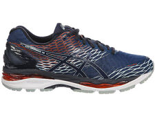 NEW MENS ASICS GEL-NIMBUS 18 RUNNING SHOES TRAINERS POSEIDON / DARK SAPPHIRE
