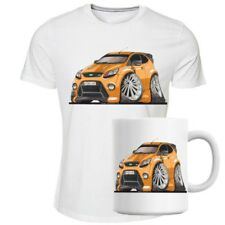 Koolart Ford Focus ST Orange Tee Shirt And Mug