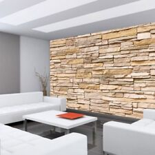 "Fleece Photo Wallpaper ""Asian Stone wall - natural - ENDLESS - stacking"" ! T"