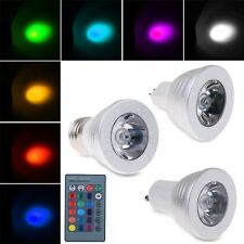 16 Color Magic Changing E27 3W RGB LED Light Bulb Lamp IR Remote Control 5 Model