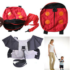 Children's Walking Harness Buddy Backpack Kid Toddler Safety Leash Tether Strap