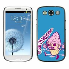 Hard Phone Case Cover Skin For Samsung Delicioous ice cream pink