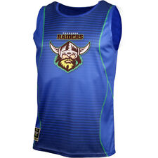 Canberra Raiders NRL Mens Sublimated Training Singlet BNWT Clothing