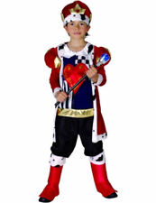 Child Medieval King Boys Fancy Dress Outfit Kids Book Day Week Costume