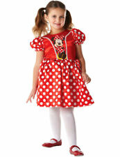 Child Girls Official Licensed Disney Minnie Mouse Fancy Dress Costume