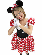 Ladies Official Licensed Disney Minnie Mouse Fancy Dress Costume