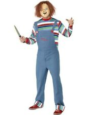 Adult Halloween Chucky Childs Play Fancy Dress Costume Halloween Outfit
