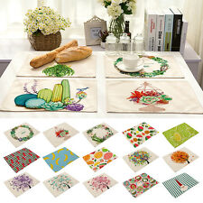 Insulation Placemats Bowl Tableware Place Mat Table Coasters Kitchen Dining Room