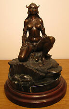 """""""Princess"""" limited edition bronze sculpture by Frank Frazetta and Clayburn Moore"""