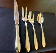 Kirk & Son Wadefield Sterling Silver Place Setting 1930's Excellent!