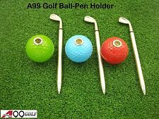 Spicybuys Golf Ball Pen Holder Set Gift Set Great gift to golfer