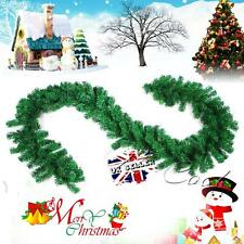 270cm x25cm Imperial Pine Christmas Garland Decorations Tree Fireplace Green 9FT