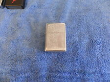 Zippo lighter 2006 chrome scroll in good used condition