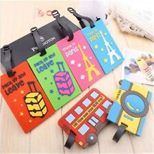 New Cute Lable Multi-Luggage Tag Name Bag Card Holder Travel Suitcase Baggage