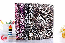 Premium Luxury Leopard Print Leather Flip Stand Case Cover Apple iPad 2 / 3 / 4
