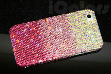Pink Crystal Bling Diamond Case Cover For iPhone 7 7 Plus W/H SWAROVSKI Element