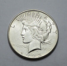 1923-S UNC Peace Dollar VERY NICE Silver Coin  NO RESERVE !!!