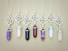 Healing Point Natural Crystal Gift Healing Point Jewelry Necklace Pendant 2016