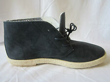 MENS LAMBRETTA BOOTS NAVY LACE UP