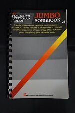 Vtg 1975 Hal L Easy Electronic Keyboard Music JUMBO SONGBOOK #28 100+ Play Book