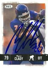 Ryan Clady autographed Football Card (Boise State) 2008 SAGE HIT Rookie #79