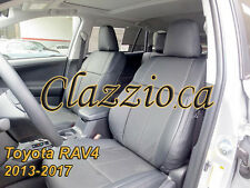2013-2017 TOYOTA RAV4 | CLAZZIO LEATHER SEAT COVER (1ST+2ND ROWS)