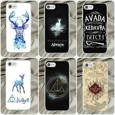 Harry Potter Quote Hard Transparent Clear Case Cover for iPhone