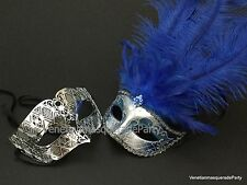 Venetian Feather Masquerade Ball Mask Costume Cosplay Burlesque New Year Party