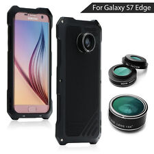 VIKING for Samsung Galaxy S7 edge G935 Camera Lens with Heavy Duty Aluminum Case