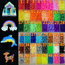 New 5mm 300/500/1000pcs PP HAMA/PERLER BEADS for Child Gift GREAT Kids Great Fun