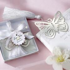 Silver Stainless Steel Heart Bookmark for Wedding Party Baby Shower Favor Gift