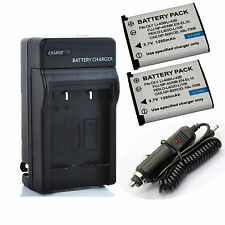 Li-42B Battery / Charger for Olympus FE-190,FE-20,FE-220,FE-230 Digital Camera