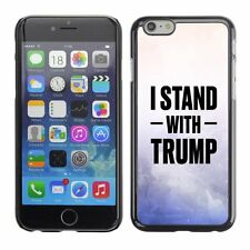 Hard Phone Case Cover Skin For Apple 298 USA Trump white purple paint