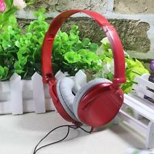 FOLDABLE HEADPHONE DJ STEREO HEADSET EARPHONE OVEREAR HEADPHONES MP3 POD 3.5MM!