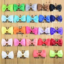 24pcs Kids Baby Girls Children Toddler Flowers Hair Clip Bow Accessories Hairpin