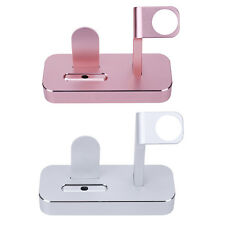 Aluminum Charging Station Holder Charger Stand Dock for Apple iPhone iWatch