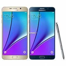 Samsung Galaxy Note 5 / Note 4 - 16GB/32GB White Gold Black Blue Smartphone VGY