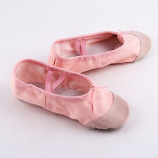 Brand Child Adult Canvas Ballet Dance Shoes Slippers Pointe Dance Gymnastics