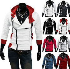 2017  Stylish Creed Hoodie men's Cosplay For Assassins Cool Slim Jacket Costume