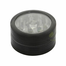 HERB GRINDER - Aluminium Clear Top Grinder 40mm - 2 pc. - Muller Crusher