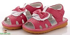 """YXY """"Serena"""" Hot Pink Girls Leather Sandals"""